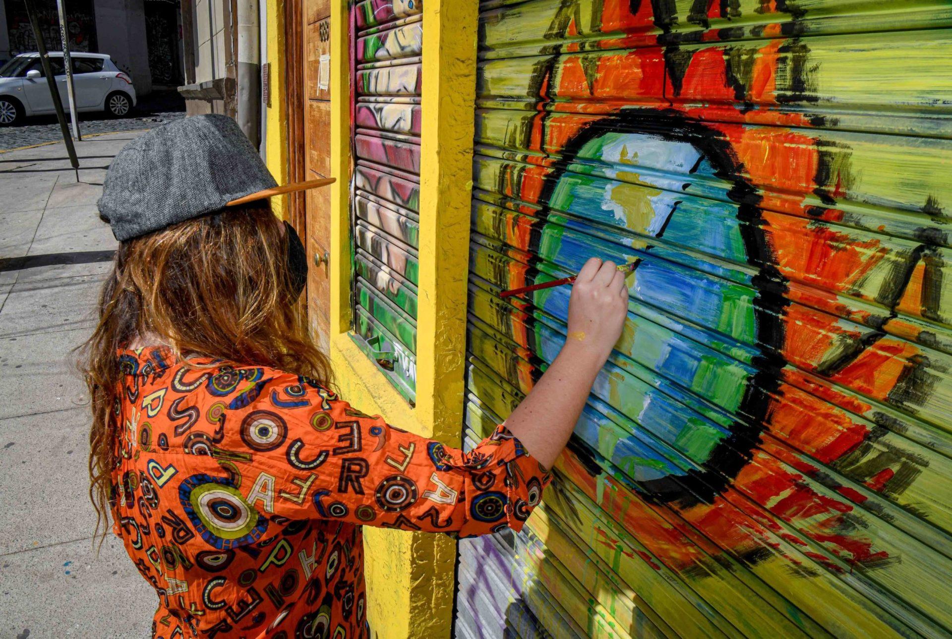1 Falsa Libertad Mural para Angelo Pieratini _ Valparaíso 2020