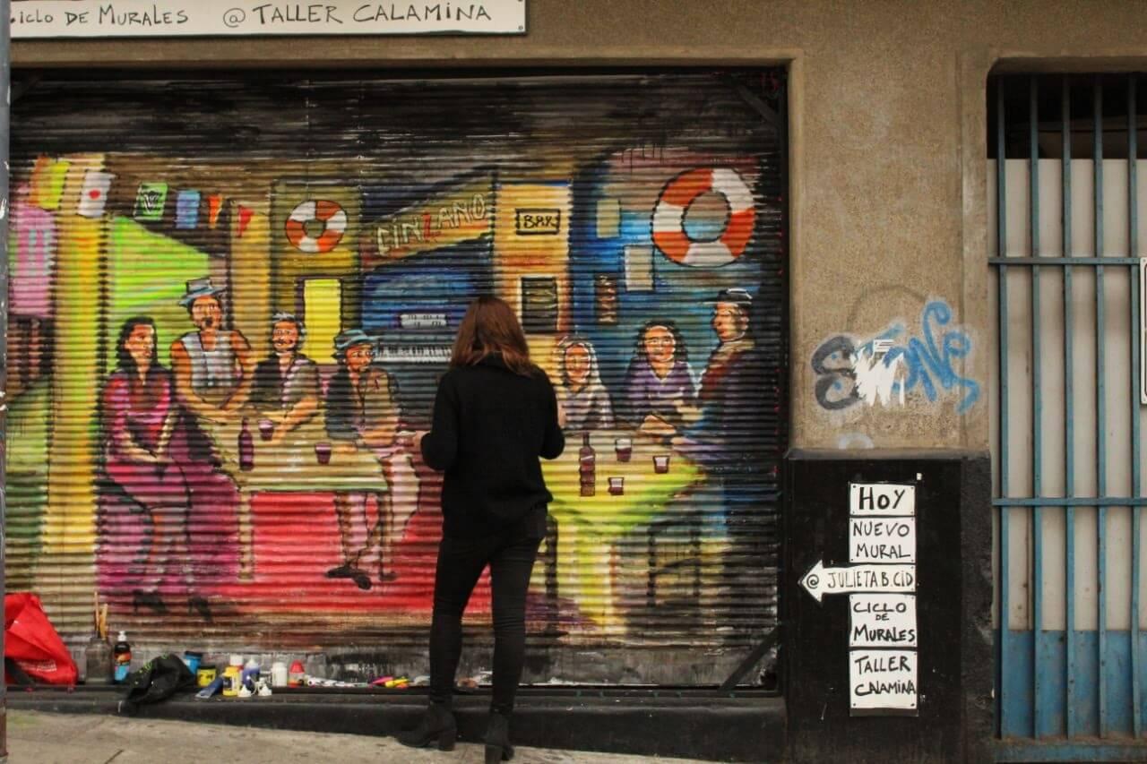 Mural Ciclo Murales Taller Calamina 2019(6)